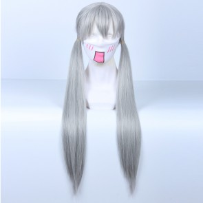 Silver 80cm Zootopia Judy Hopps Cosplay Wig