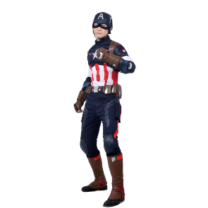 The Avengers 2 Captain America Cosplay Costume