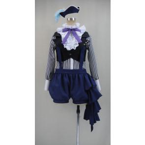 Kuroshitsuji Black Butler Circus Ciel Phantomhive Cosplay Costume