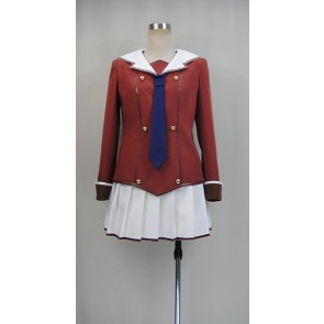 When Supernatural Battles Became Commonplace Tomoyo Kanzaki Uniform Cosplay Costume