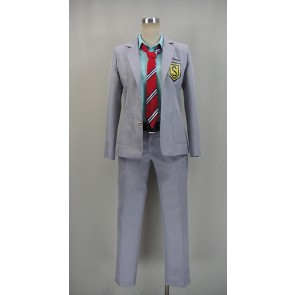 Your Lie in April Kosei Arima Boy's School Uniform Cosplay Costume