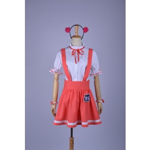 Oreimo Gokou Ruri Red Cosplay Dress