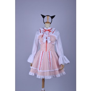 Oreimo Gokou Ruri Pink Cosplay Dress