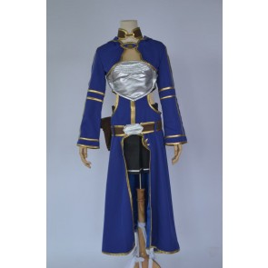Sword Art Online Silica Cosplay Costume - Blue Edition