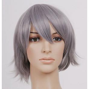 Gray 32cm Katekyo Hitman Reborn! Gokudera Hayato Cosplay Wig