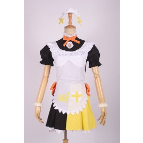 LoveLive! School idol project Koizumi Hanayo Yellow & Black Maid Uniform