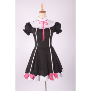 LoveLive! School idol project Yazawa Nico Black Cosplay Dress