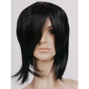 Black 32cm Black Butler Sebastian Michaelis Cosplay Wig