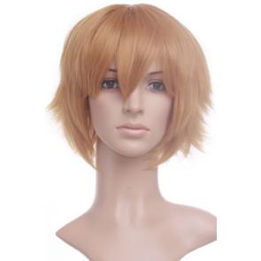 Blonde 32cm Gintama Hattori Zenzou Cosplay Wig