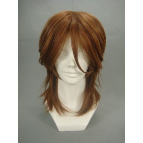 Brown 40cm Mobile Suit Gundam Seed Lockon Stratos Cosplay Wig
