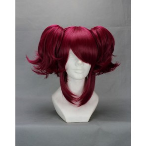 Brown Red 35cm Black Butler Mey-Rin Cosplay Wig