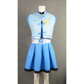 Powerpuff Girls Z Miyako Gotokuji Bubbles Cosplay Costume