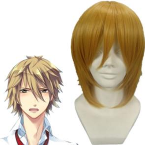 32cm Golden Starry Sky Miyaji Ryunosuke Nylon Cosplay Wig