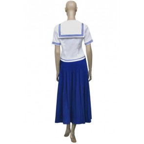 Fruits Basket Arisa Uotani White Cosplay Costume