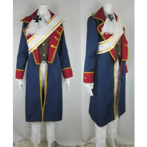 Axis Powers Hetalia Prussia Seven Years War Cosplay Costume