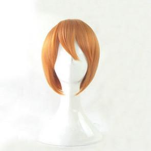 Orange 35cm Love Live! Rin Hoshizora Cosplay Wig