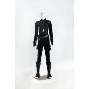 Captain America 2 The Winter Soldier Black Widow Natasha Romanoff Cosplay Costume