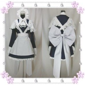 Chobits Yuzuki Maid Cosplay Costume