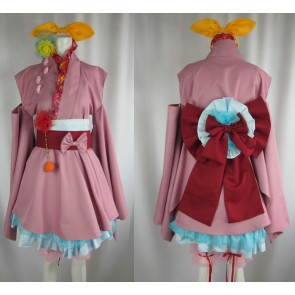 Macross Frontier Ranka Lee Cosplay Kimono Dress