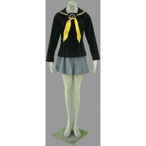 Persona 4 Chie Satonaka Girl School Uniform Cosplay Costume