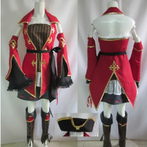 Hatsune Miku: Project DIVA Pirate Cosplay Costume