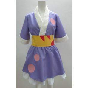 K-ON! Mio Akiyama Purple Kimono Cosplay Costume