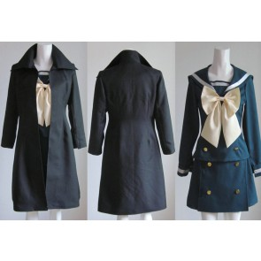 Shakugan no Shana Winter School Uniform Cosplay Costume