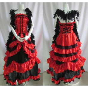 Kuroshitsuji Black Butler Madam Red Angelina Dalles Dress Cosplay Costume