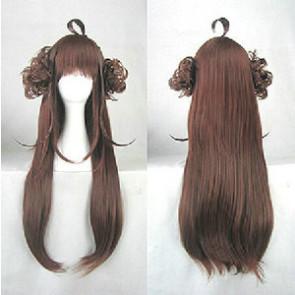 Brown 80cm Kantai Collection Kongo Cosplay Wig
