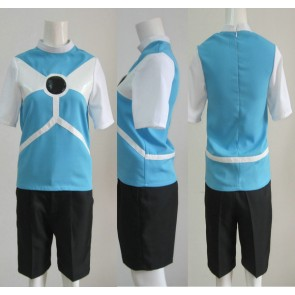 Inazuma Eleven Diamond Dust Soccer Uniform Cosplay Costume (Black Shorts)