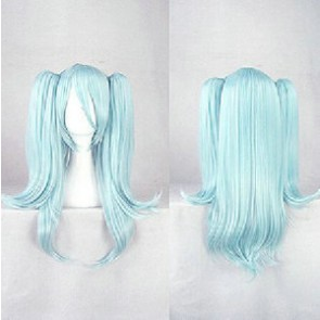 Blue 60cm Riddle Story of Devil Hitsugi Kirigaya Banba Cosplay Wig