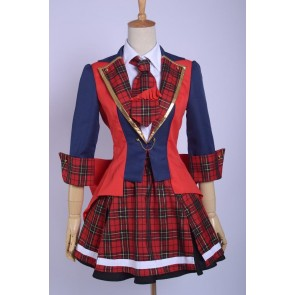AKB0048 Yuko Oshima the 9th Girl Uniform Cosplay Costume