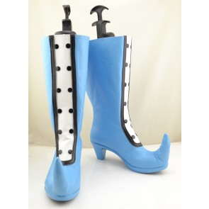 Ojamajo Doremi Magical DoReMi Blue Cosplay Boots