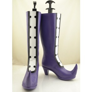 Ojamajo Doremi Magical DoReMi Purple Cosplay Boots