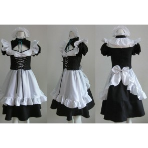 D.Gray-man Maid Cosplay Costume