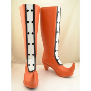 Ojamajo Doremi Magical DoReMi Orange Cosplay Boots