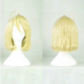 Gold 35cm Riddle Story of Devil Nio Hashiri Cosplay Wig