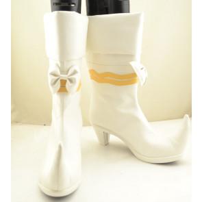 Ojamajo Doremi Magical DoReMi White Cosplay Boots