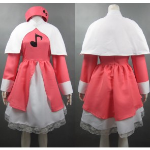 Cardcaptor Sakura Sakura Kinomoto Musical Note Cosplay Costume