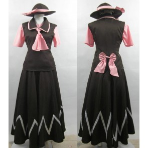 Touhou Project Yuki Cosplay Costume