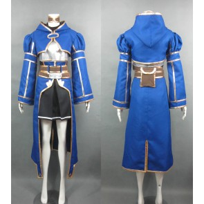 Sword Art Online (SAO) Silica Blue Cosplay Costume