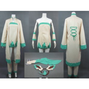 Pokemon Leafeon Human Cosplay Costume