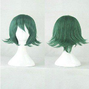 Dark Green 35cm Kill la Kill Uzu Sanageyama Cosplay Wig