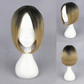 Haikyuu!!! Kenma Kozume Cosplay Wig - Black Fading into Blonde
