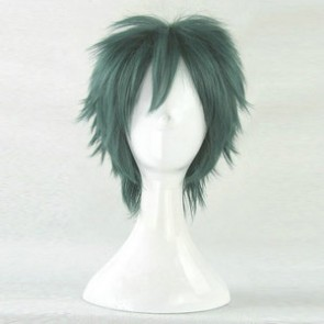 Green 35cm The Devil Is a Part-Timer! Sadao Mao Cosplay Wig