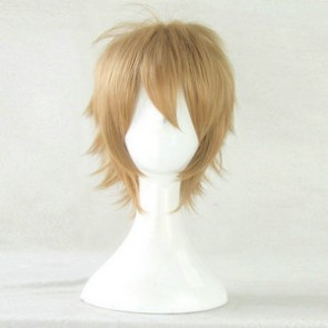 Blond 35cm Danganronpa: Trigger Happy Havoc Byakuya Togami Cosplay Wig
