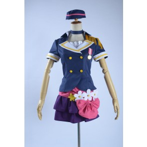 Love Live! School Idol Project A-RISE Anju Yuuki Cosplay Costume