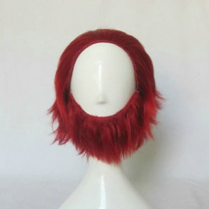 Red 35cm Fate/Zero Rider Iskander Cosplay Wig