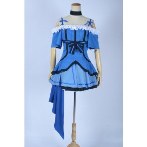 Love Live! School Idol Project Umi Sonoda Blue Cosplay Costume
