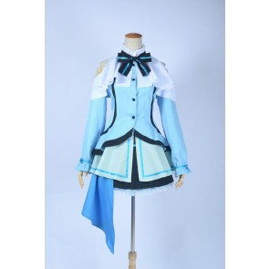Love Live! School Idol Project Eri Ayase Blue Cosplay Costume